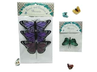 Floral &amp; Garden Accents Butterfly