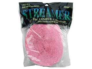 "Crepe Streamer 1.75""x 81' Pink (3 pieces)"