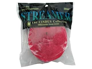 Gifts $1 - $3: Crepe Paper Streamers by Cindus 1 3/4 in. x 81 ft. Bombay Pink (3 pieces)