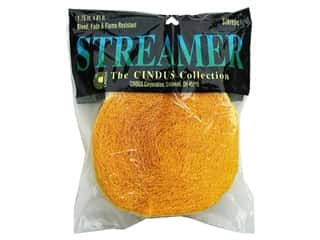 Crepe Streamer 1 3/4 in. x 81 ft. Gold (3 pieces)