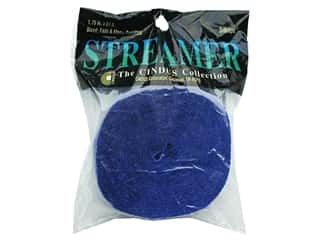 "Crepe Streamer 1.75""x 81' Royal Blue (3 pieces)"