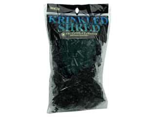 Gift Wrap & Tags: Cindus Krinkle Shred 2 oz Black