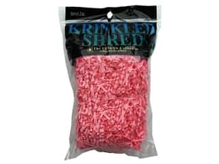 Gift Wrap & Tags: Krinkle Shred 2 oz Bombay Pink