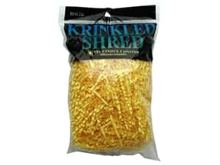 Gift Wrap & Tags: Krinkle Shred 2 oz Canary Yellow