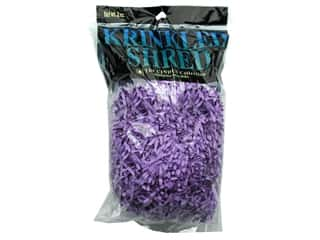 Gift Wrap & Tags: Krinkle Shred 2 oz Lavender