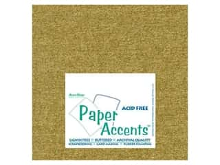 Pearlized Paper 12 x 12 in. Gold Leaf by Paper Accents (25 sheets)