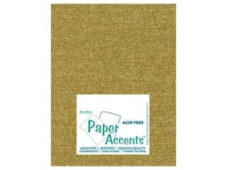 Pearlized Paper 8 1/2 x 11 in. Gold Leaf by Paper Accents (25 sheets)