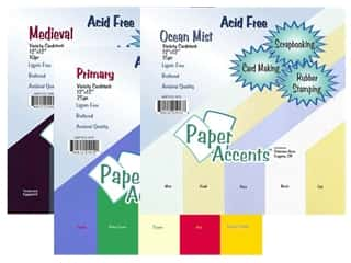Scrapbooking & Paper Crafts: Cardstock Variety Pack by Paper Accents