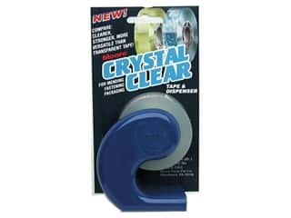"Moore Glues, Adhesives & Tapes: Moore Crystal Clear Tape 3/4"" Dispenser with Refill"