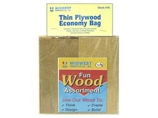 Midwest Products Company Wood Shapes: Midwest Economy Bag Plywood