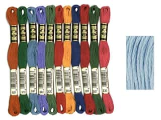 DMC Six-Strand Embroidery Floss #157 Very Light Cornflower Blue (12 skeins)
