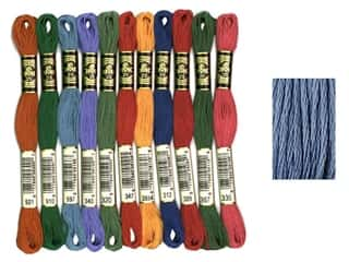 DMC Six-Strand Embroidery Floss #160 Mediumium Grey Blue