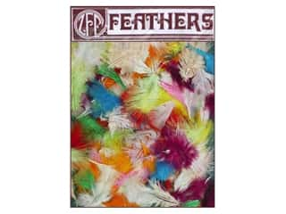 Zucker Feathers Blue: Zucker Feather Marabou Medium .5 oz Assorted