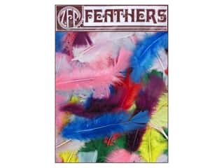 Feathers Doll Making: Zucker Feather Turkey Flats 0.5oz Assorted