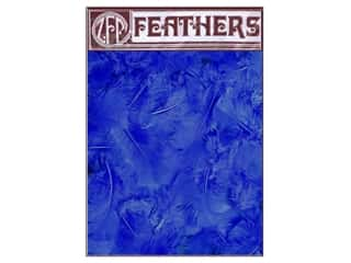 Zucker Feathers Blue: Zucker Feather Turkey Plumage 0.5 oz Royal