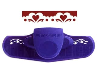 Borders: Fiskars Punch Border Hearts