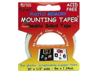 "Photo Corners Memory/Archival Tape: Pioneer Photo Memory Mounting Taper 1/2""x 30'"