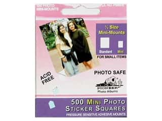 Pioneer Photo Album Inc Glues/Adhesives: Pioneer Photo Mount Square Mini 500 pc
