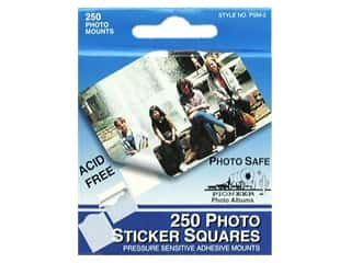 Pioneer Photo Album Inc Glues/Adhesives: Pioneer Photo Mount Square 250 pc