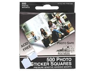 Pioneer Photo Album Inc Glues/Adhesives: Pioneer Photo Mount Square 500 pc