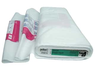 "Interfacings Medium Weight: Pellon Interfacing Stacy Shape Flex Fusible 20""x 25yd White (25 yards)"