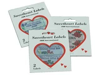 JHB Sweetheart Labels