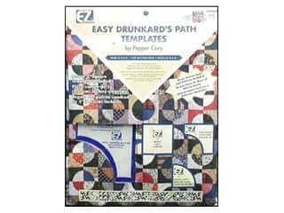 EZ Quilting Easy Drunkard's Path Acrylic Template Set