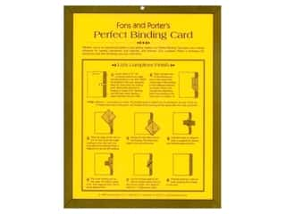 Charts: Fons & Porter's Perfect Binding Card