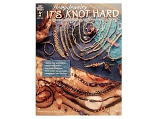 Hot off the Press Black: Hot Off The Press Hemp Jewelry It's Knot Hard Book