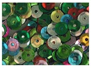 Sequins Accent Design Cupped Sequins 8 mm 200 pc: Accent Design Cupped Sequins 5 mm 800 pc Multi (3 packages)