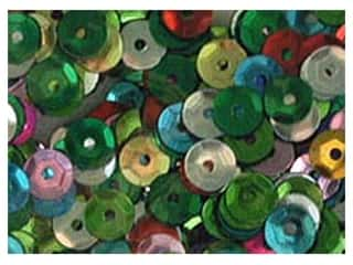 Sequins Accent Design Cupped Sequins 8 mm 200 pc: Accent Design Cupped Sequins 8 mm 200 pc Multi (5 packages)
