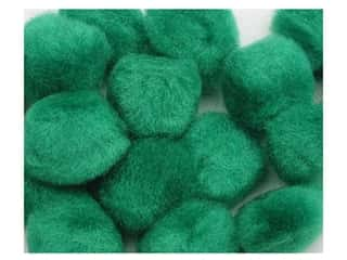 Pom Pom by Accent Design 3/8 in. Green 16pc. (3 packages)