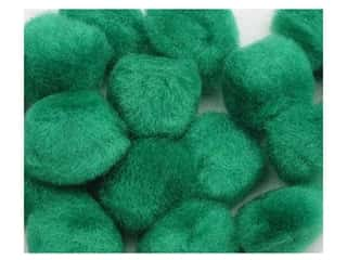Pom Poms $3 - $4: Pom Pom by Accent Design 3/4 in. Green 12pc. (3 packages)