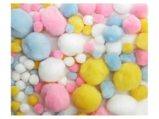 Accent Design Pom Pom 100 pc Variety Pack Pastel