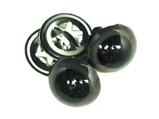 Accent Design Crystal Eyes w/Washer 9mm 8pcBrown (3 packages)