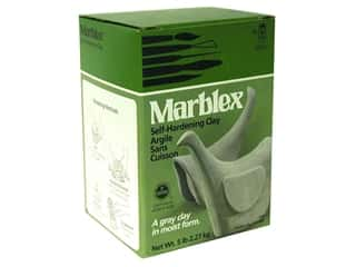 Clearance Blumenthal Favorite Findings: Amaco Marblex Self Hardening Clay 5 lb.