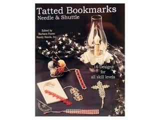 Tatted Bookmarks Using Needle & Shuttle Book