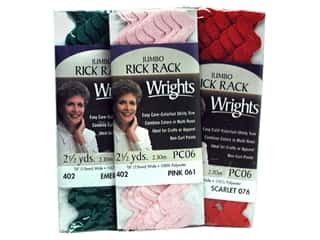 rick rack: Wrights Jumbo Rick Rack