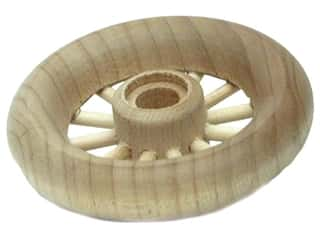 "Woodworks Spoke Wheel Bulk 2 1/2"" Diameter (2 piece)"