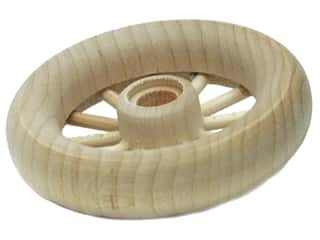 "Woodworks Spoke Wheel Bulk 2 3/4"" Diameter (2 pieces)"