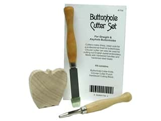 Buttonhole Cutter Set 3 pc