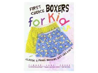 Fat Quarters Patterns: Timber Lane Press First Choice Boxers For Kids Pattern