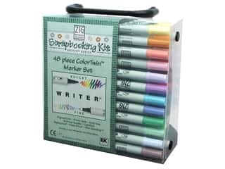 Zig Writer 48 pc Set with Case