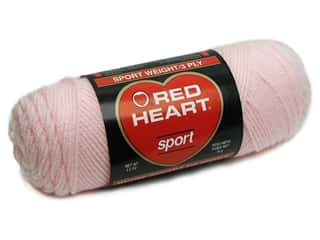 Red Heart Sport Yarn Baby Pink 2.5 oz.
