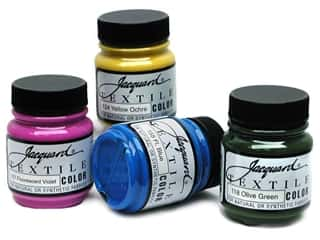 acrylic paint: Jacquard Textile Color 2.25 oz