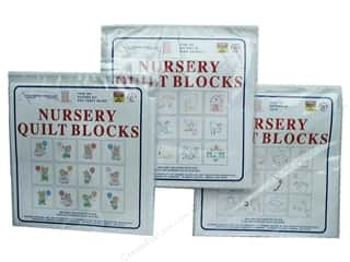 Jack Dempsey Nursery Quilt Block 12pc