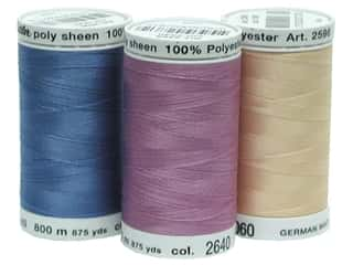 Mettler PolySheen Embroidery Thread Sz 40 875yd