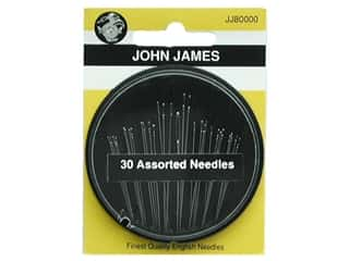 John James Needle Assorted 30pc (3 packages)
