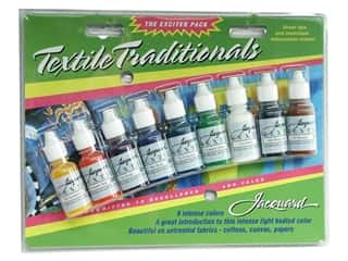 Jacquard Crafting Kits: Jacquard Paint Exciter Pack Textile Traditionals
