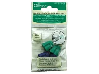 Knit Point  Protector: Clover Point Protector Circular Needles Small 4pc